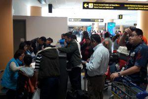 INEI realiza el Empadronamiento en el Aeropuerto Internacional Jorge Chávez con normalidad